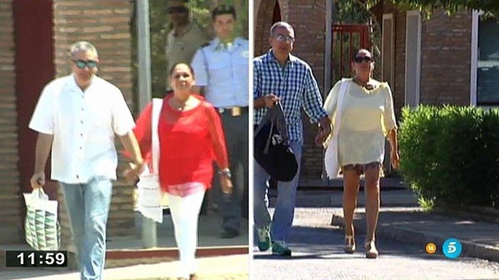 Así han sido las dos salidas de prisión de Isabel Pantoja