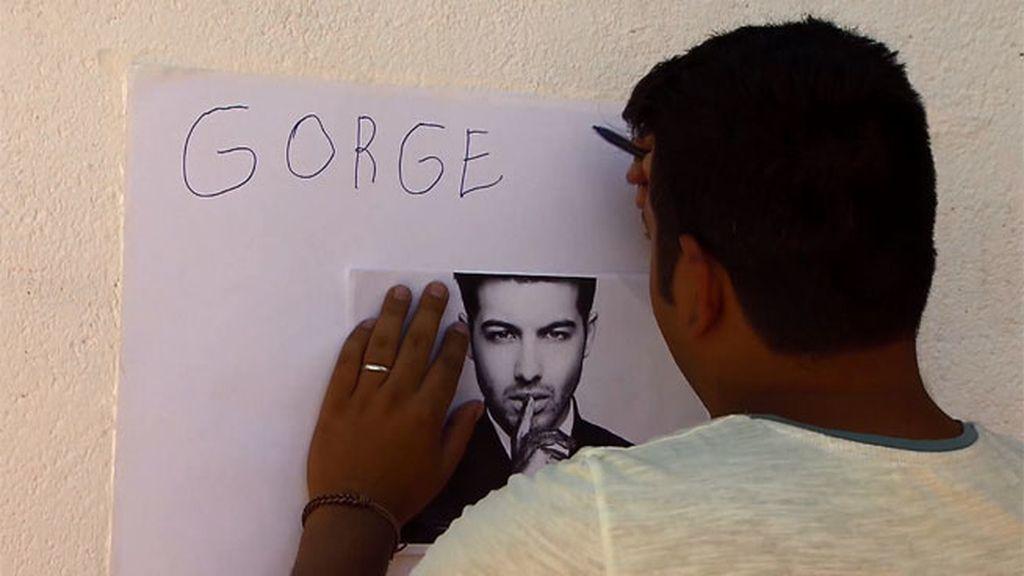 """Jorge, a Iván: """"No te preocupes, Ricky Martin puso mi nombre con dos letras 'G'"""""""
