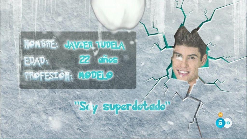 Javier Tudela entró por la puerta grande en la televisión y quiere quedarse