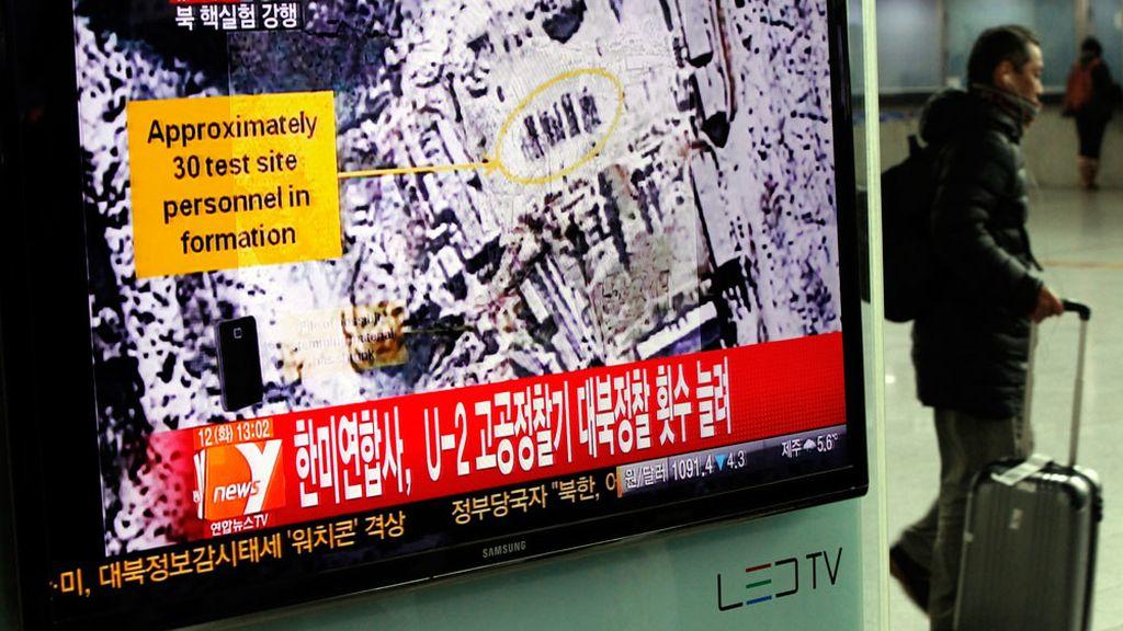 Tercera prueba nuclear en Corea del Norte