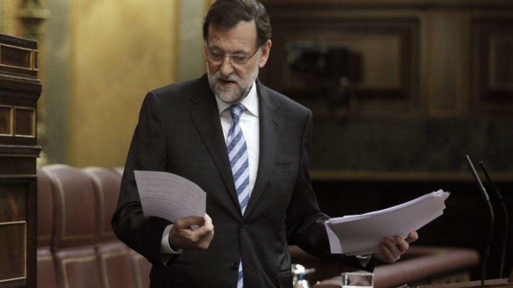 Mariano Rajoy en la segunda sesión del Debate sobre el estado de la Nación