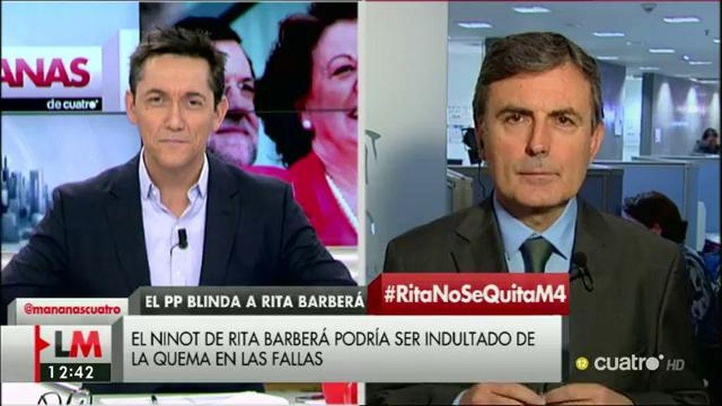 """Saura, de Barberá: """"Rajoy se protege porque tiene miedo de que ella tire de la manta"""""""