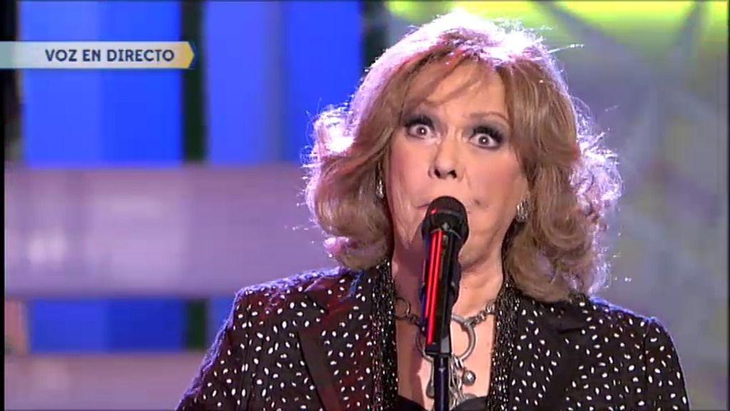Ama María, de 'Los 3 sudamericanos' cantó 'El puente', éxito de Helena Bianco