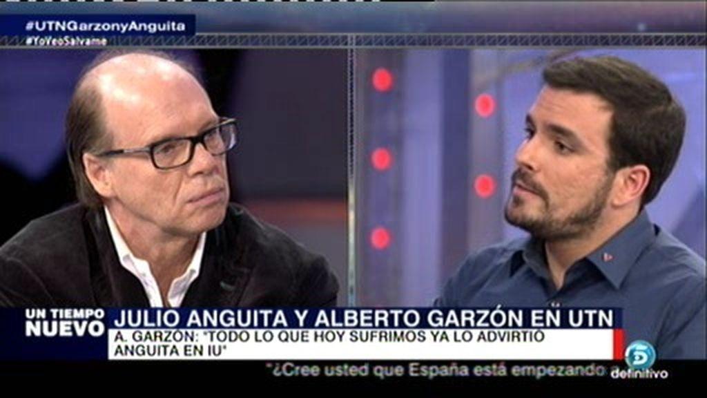 """A. Garzón: """"Podemos no dice si es de izquierdas o derechas, nosotros sí"""""""