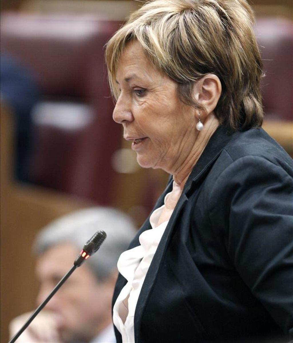 La diputada del PP e integrante de la Mesa del Congreso Celia Villalobos. EFE/Archivo