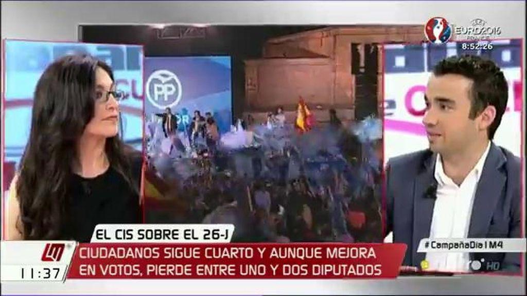 """Pablo Yáñez (C's): """"En el fondo, lo único que pide el PP es el sillón de Rajoy"""""""