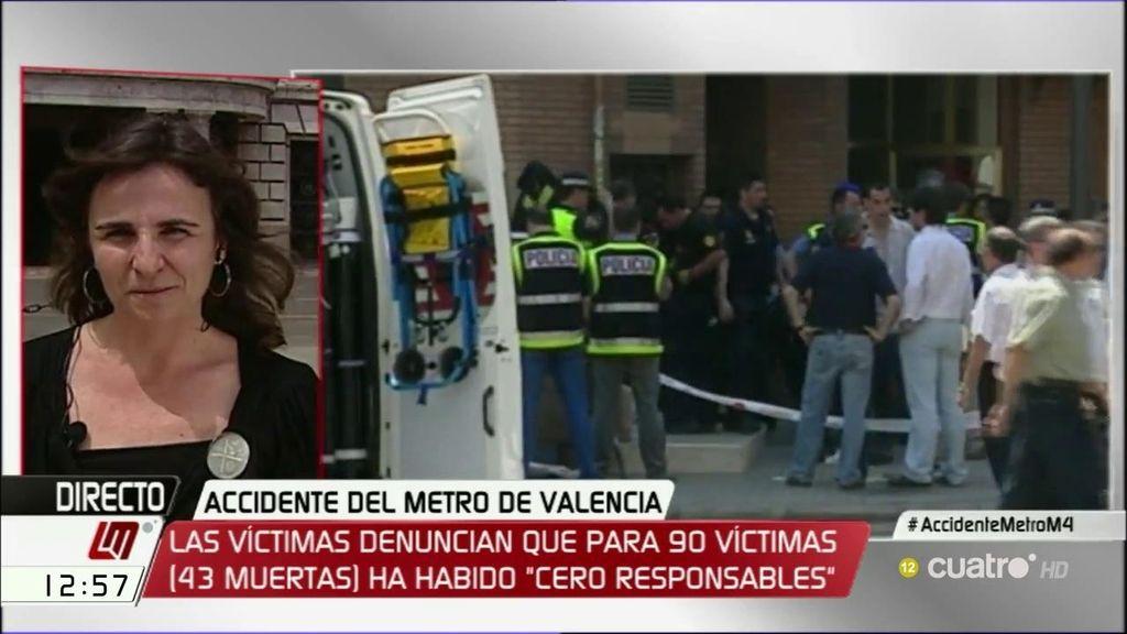 """Beatriz garrote: """"El gobierno valenciano nos trataba como indeseables"""""""