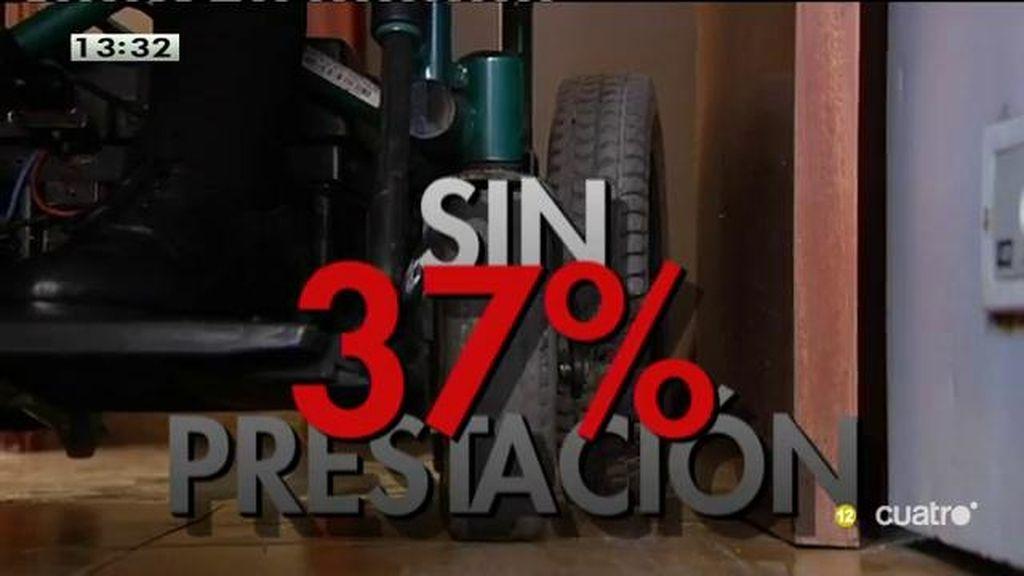 Un 37% de personas dependientes no reciben ninguna prestación