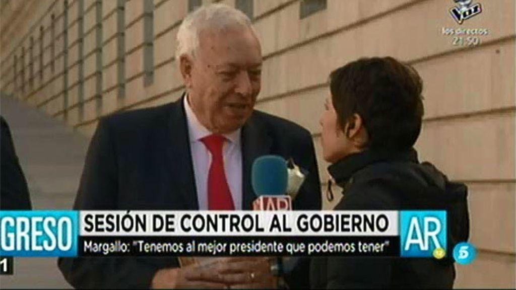 """García Margallo: """"Cambios en la presidencia son inimaginables"""""""