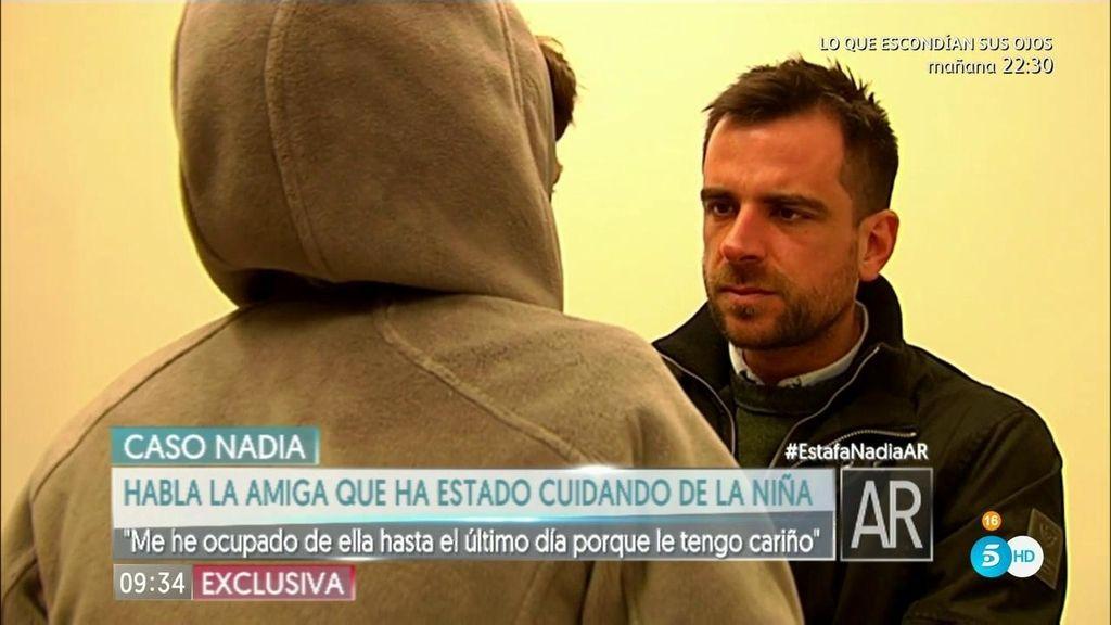 """Amiga madre de Nadia: """"Me reconoció que Fernando le había ocultado cosas"""""""