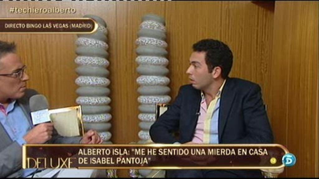 """Alberto Isla: """"No había ningún tipo de confianza entre Isabel Pantoja y Chabelita"""""""