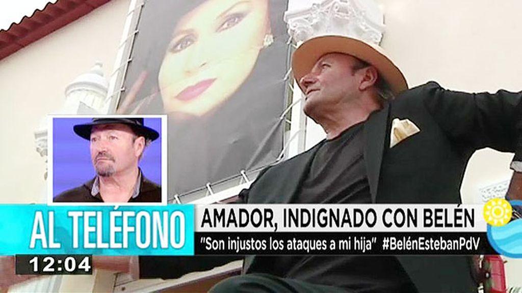 """Amador Mohedano: """"Ya nos han echado de Telecinco así que dejadnos en paz"""""""
