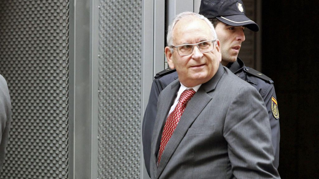Ángel Sanchís declara como imputado ante el juez Pablo Ruz, por el caso Gürtel