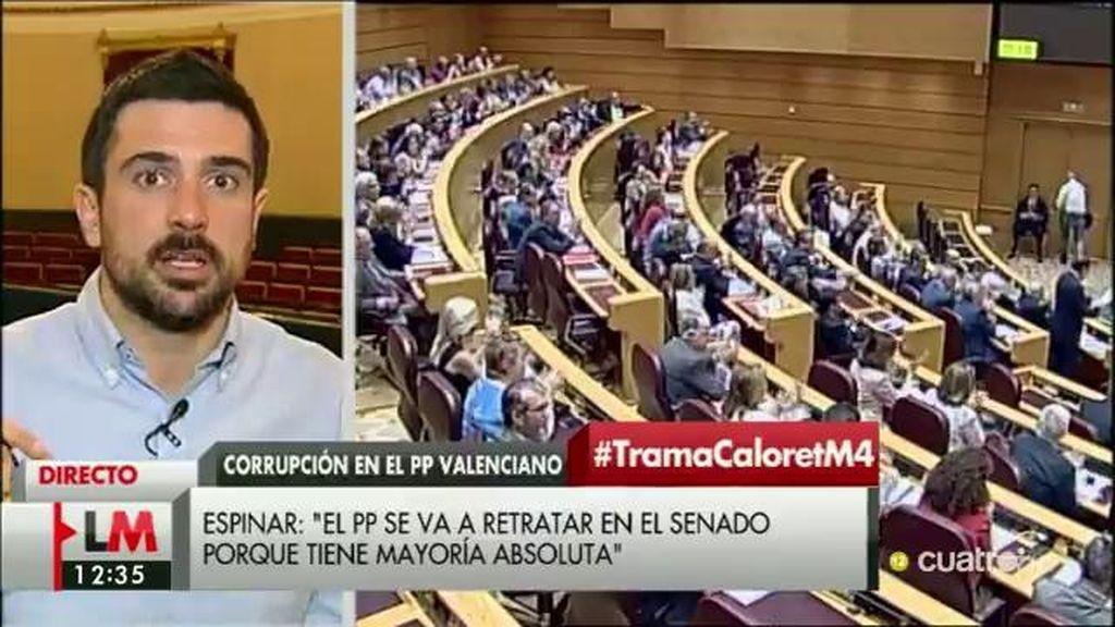 """R. Espinar: """"Depende por entero del PP que Rita Barberá pueda ser investigada o no"""""""