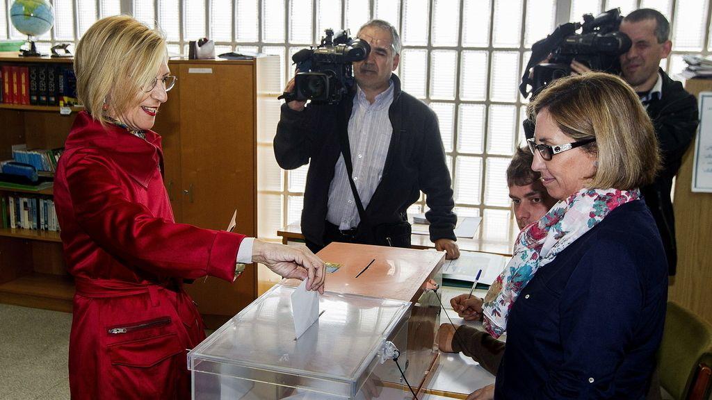 """Rosa Díez: """"Elegir es tan importante como la democracia misma"""""""