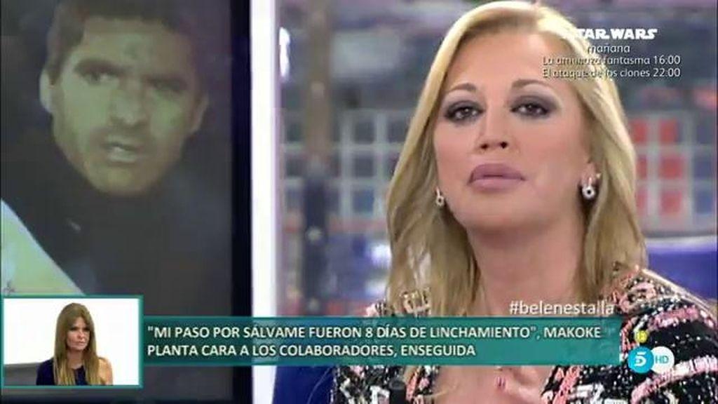 Belén Esteban pide a su familia que no se acerquen a Toño Sanchís
