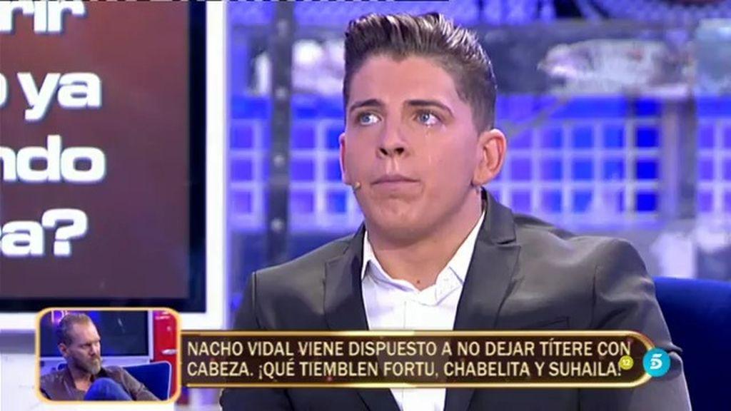 "Rafa Mateo: ""Me he colado en el cementerio para estar al lado de la tumba de mi novia"""