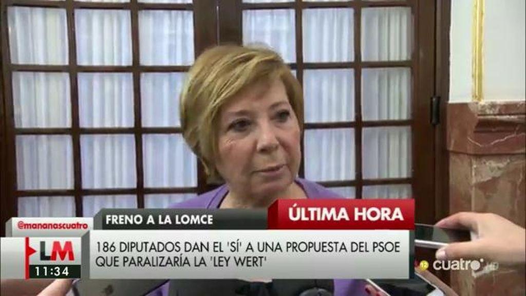 """Celia Villalobos, de Pedro Sánchez: """"Si tiene que pactar con el diablo, lo hará"""""""
