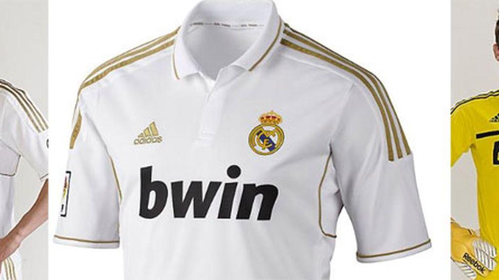 El Real Madrid presenta su equipación para la próxima temporada. Foto: Real Madrid