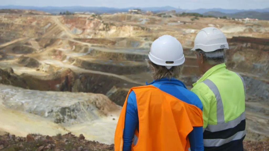 Una explosión, metales y minerales valiosos…La mina de Riotinto al completo