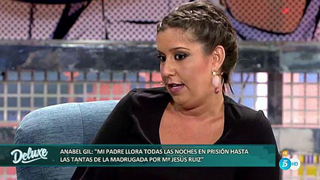 """Anabel: """"José Antonio Roca pidió el cambio de celda porque mi padre no paraba de llorar"""""""