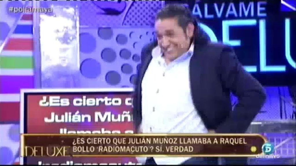 """Luis Amaya imita a Julián Muñoz cantando """"con dinero y sin dinero"""""""