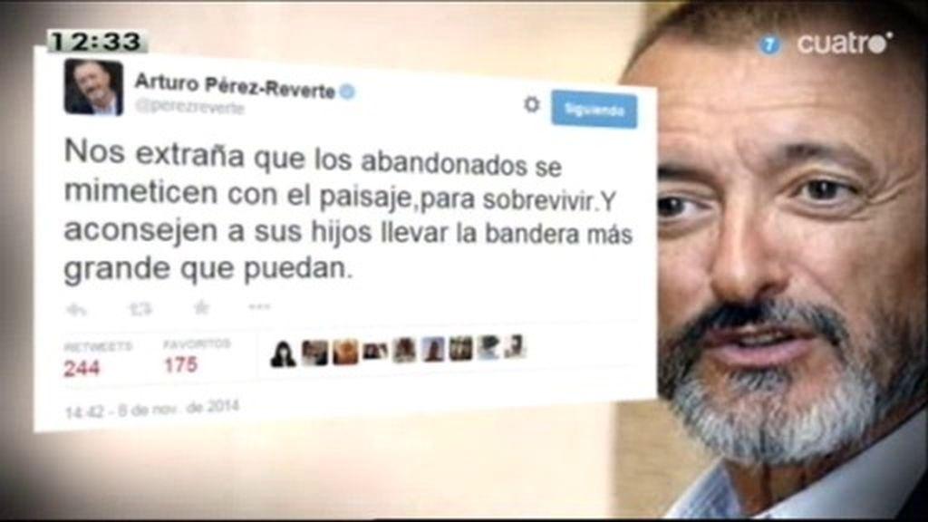 El 'aguijón' de Arturo Pérez-Reverte