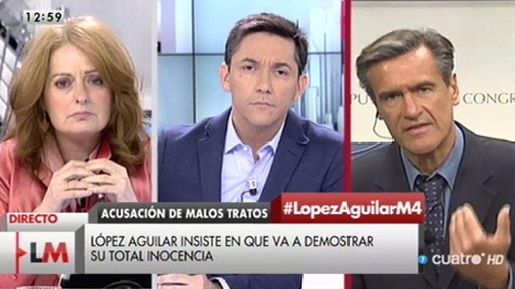 """López Aguilar: """"La ley no queda cuestionada, creo en la ley y voy a acreditar mi inocencia"""""""