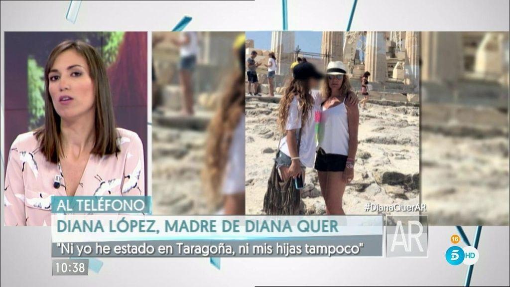 "Diana López Pinel: ""Ni yo he estado en Taragoña, ni mis hijas tampoco"""