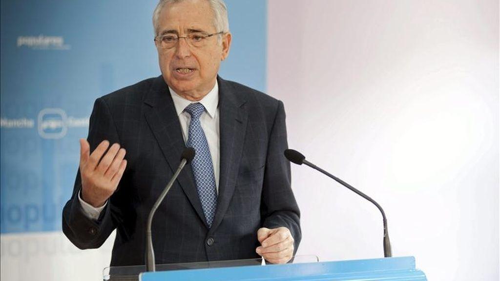 El presidente de la ciudad de Melilla, Juan José Imbroda. EFE/Archivo