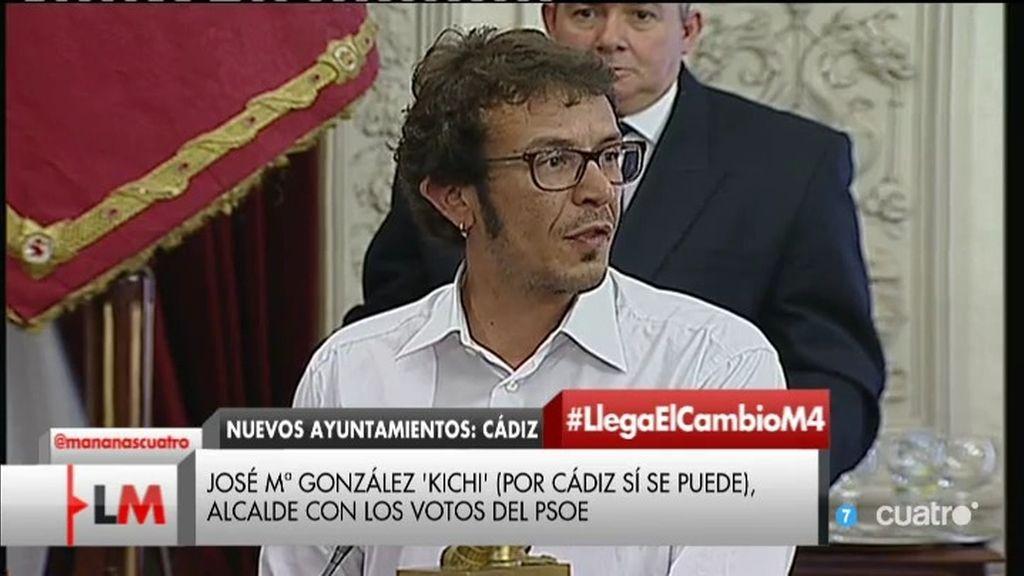 Cádiz, terreno de Podemos con el triunfo de José Mª González 'Kichi'