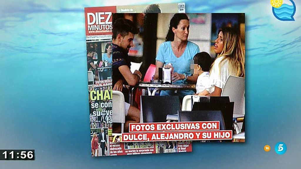 Chabelita y Alejandro, felices y en familia