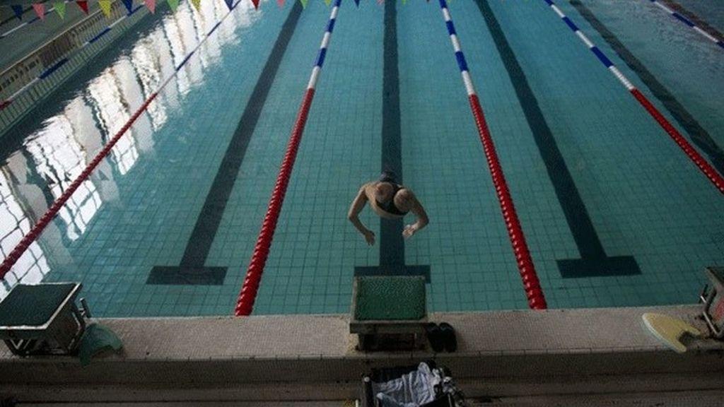 No tiene piernas pero puede ganar una medalla olímpica