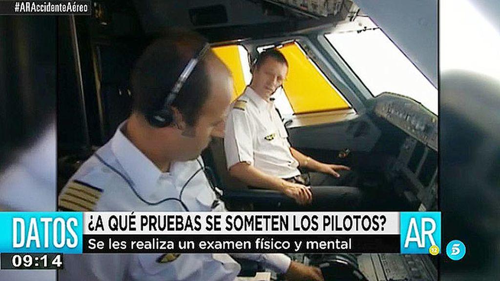 ¿Qué controles pasan los pilotos?