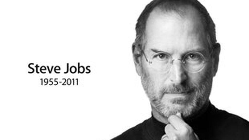 Apple modifica su web para homenajear a Jobs. Foto: Apple.