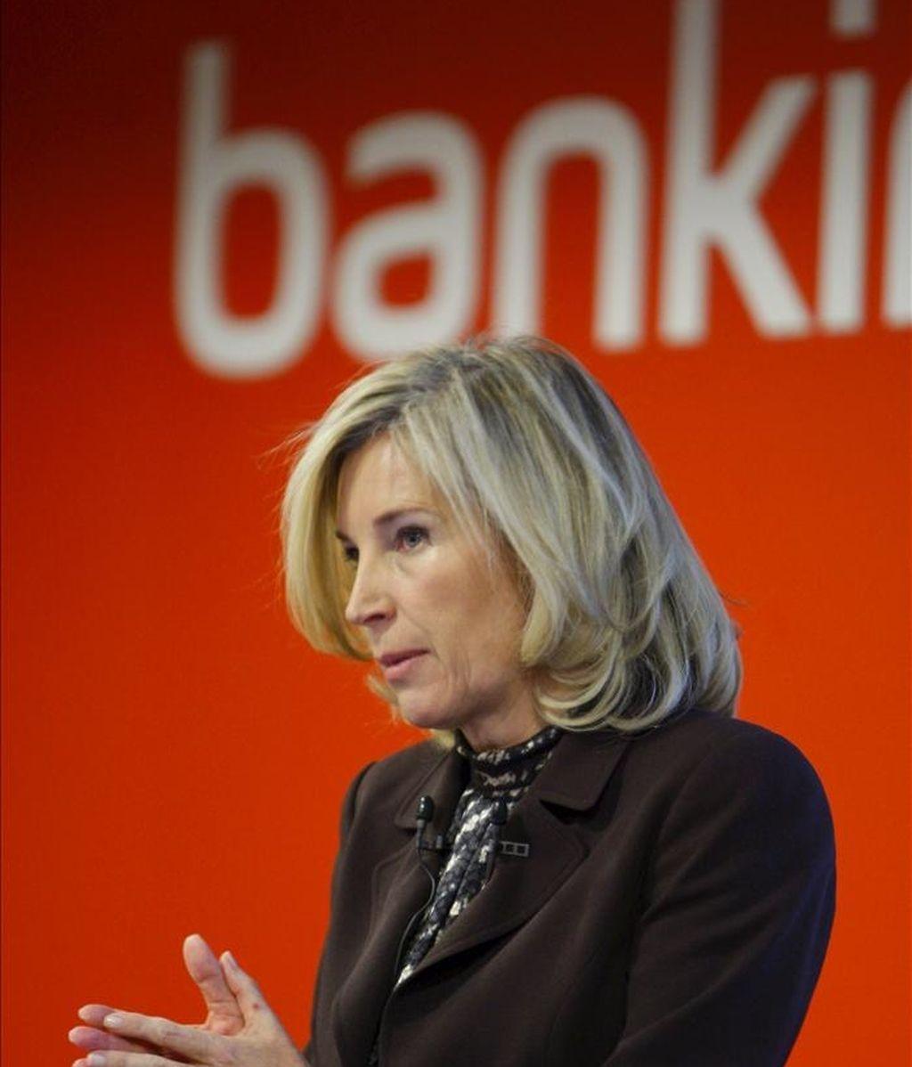 La consejera delegada de Bankinter, María Dolores Dancausa. EFE/Archivo