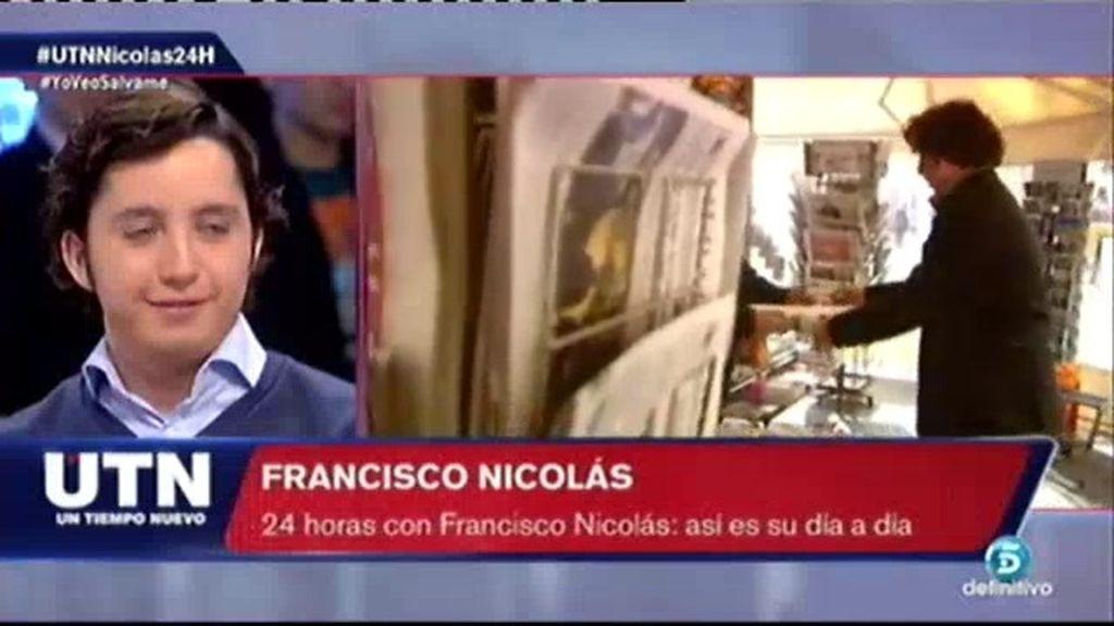 Así es el día a día de Francisco Nicolás