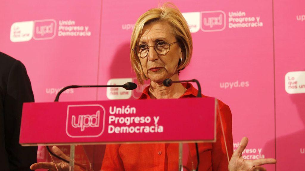 """Rosa Díez: """"No presentaré mi candidatura para el Consejo de Dirección"""""""