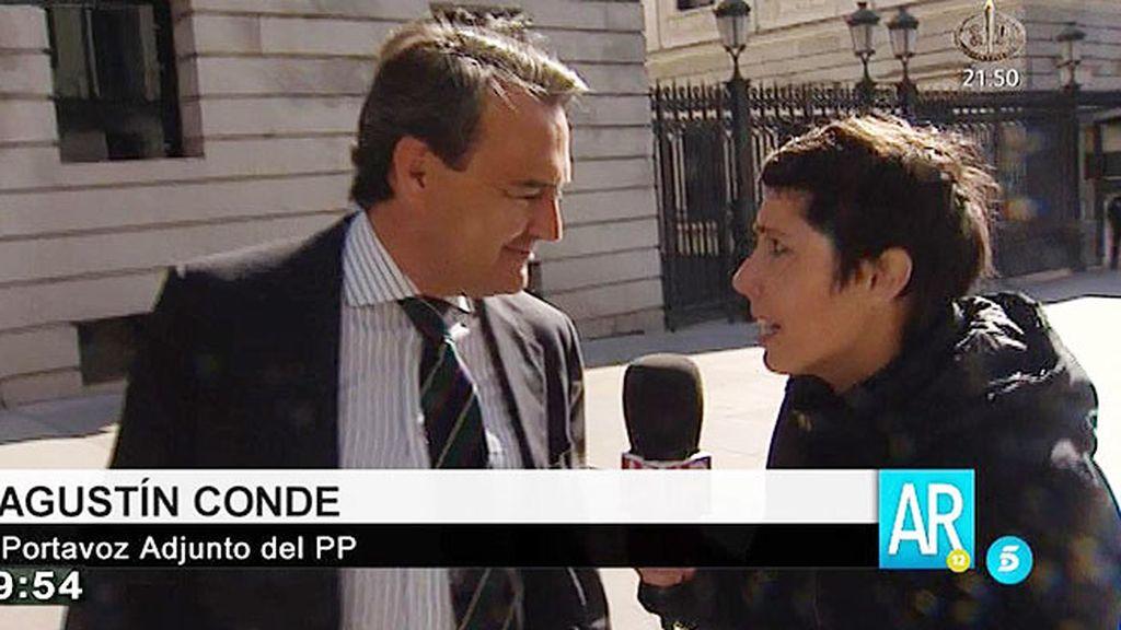 """Agustín Conde: """"Uno no tiene por qué declarar determinado tipo de cosas"""""""