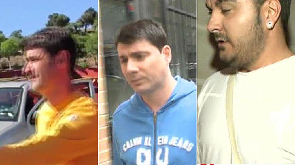 Jesulín, Fran y Miguel no se pronuncian sobre Juan Carlos, el primer novio de Belén