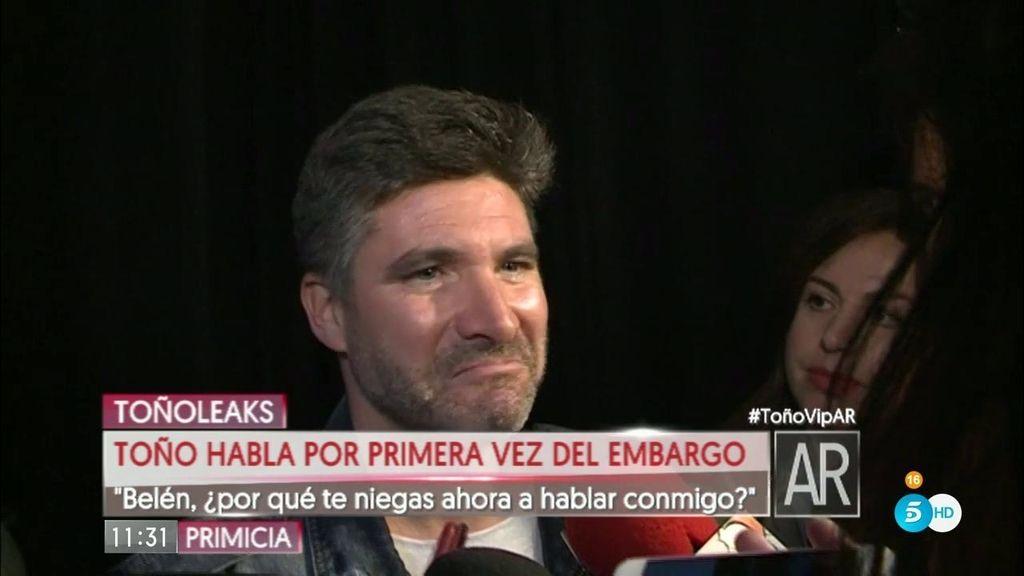 """Toño Sanchís, de Belén: """"Por mí como si se tira de un quinto piso. Me da igual"""""""