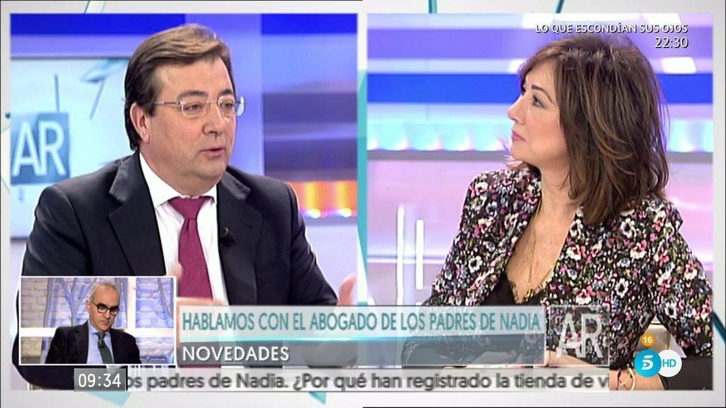 """Fernández Vara: """"El PSOE ha recuperado la centralidad política del país"""""""
