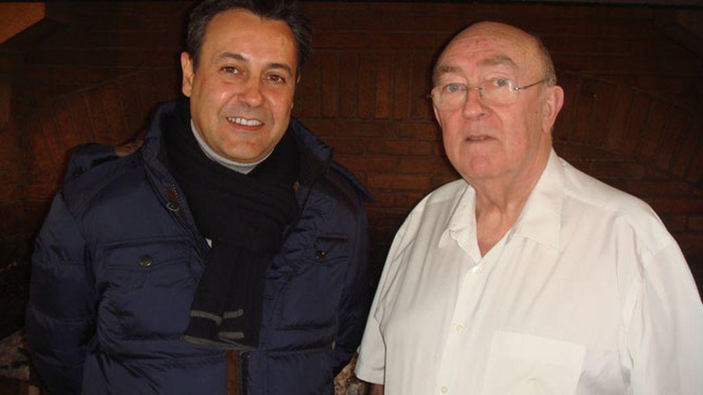 D. Pedro Arregui, maestro asador de Getaria