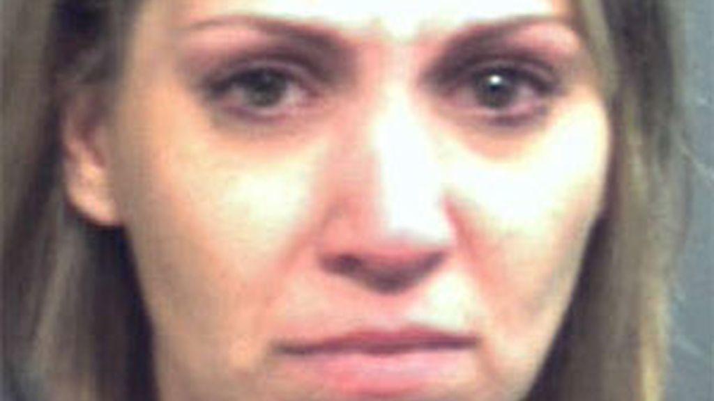 Amanda Brumfield era la madrina de la pequeña. Foto: Prisión de Orange County