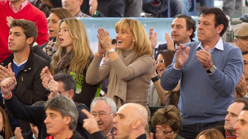 Famosos en la Final de la Copa Davis