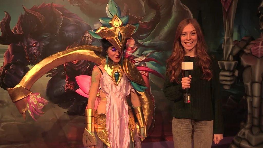'Gloryroller' aka Karma Lotus, ganadora del concurso cosplay de Gamergy