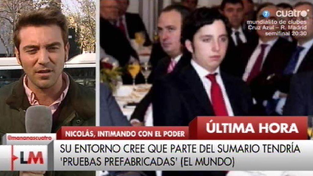 """J. Negre: """"El entorno de Fco. Nicolás cree que se están prefabricando pruebas"""""""