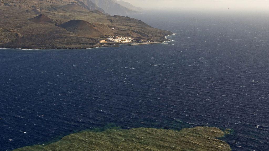 Posibilidad de erupción volcánica al norte de El Hierro