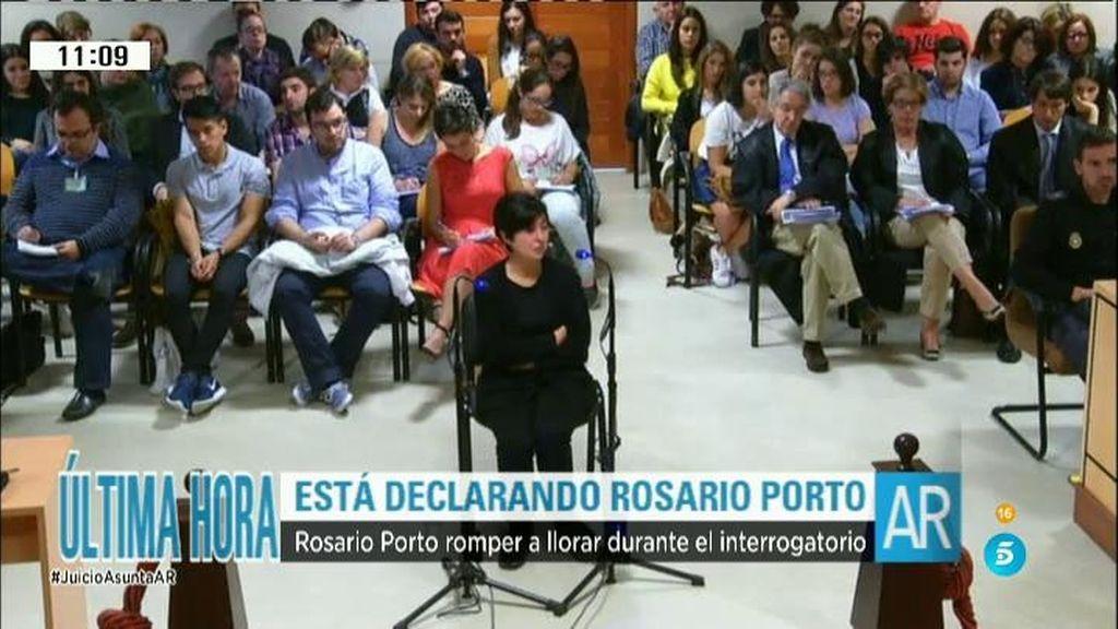 Rosario Porto rompe a llorar durante el interrogatorio al hablar de Asunta