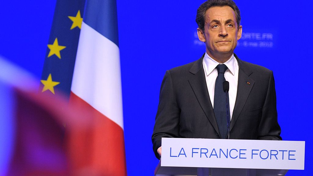 Nicolas Sarkozy asume su derrota